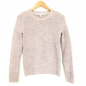 Victoria's Secret Lilac & Metallic Knit Sweater